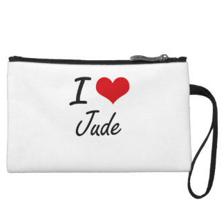 I Love Jude Wristlet Purse