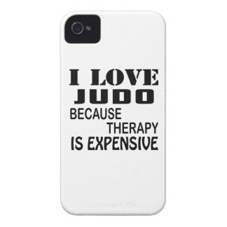 I Love Judo Because Therapy Is Expensive iPhone 4 Case-Mate Cases
