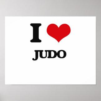 I Love Judo Print