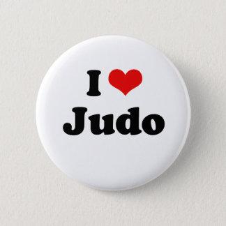 I Love Judo Tshirt 2 Inch Round Button