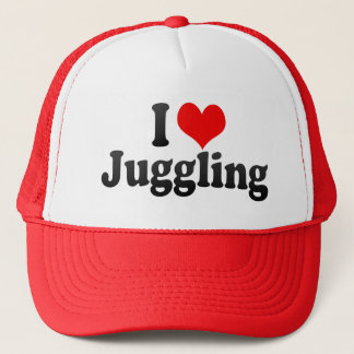 I Love Juggling Trucker Hat