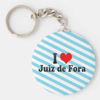 I Love Juiz de Fora, Brazil Keychain