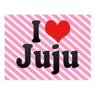 I Love Juju Postcard