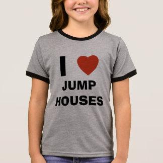 I love jump houses ringer T-Shirt