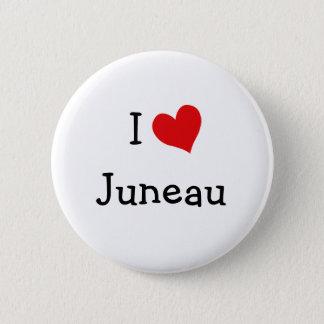I Love Juneau 2 Inch Round Button