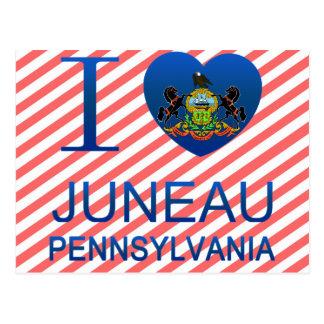 I Love Juneau, PA Postcard