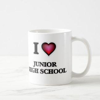 I Love Junior High School Coffee Mug