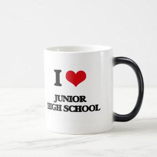 I Love Junior High School Coffee Mugs