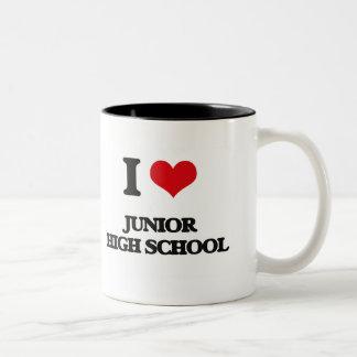 I Love Junior High School Mug