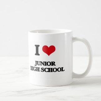 I Love Junior High School Mugs