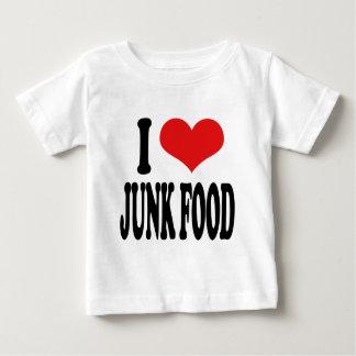 I Love Junk Food Baby T-Shirt