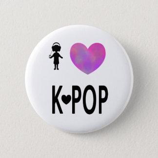 I love K-pop 2 Inch Round Button