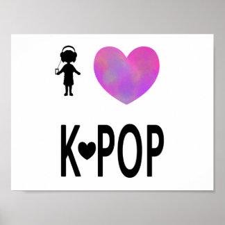 I love K-pop Poster