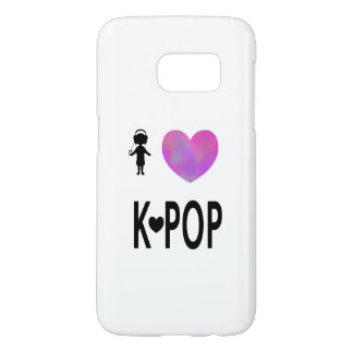 I love K-pop Samsung Galaxy S7 Case