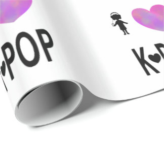 I love K-pop Wrapping Paper