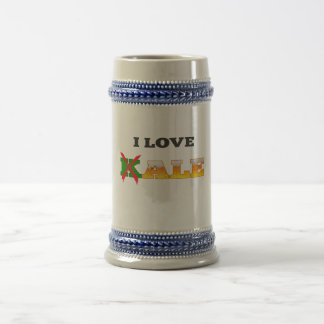 I Love Kale, Funny, Nerdy Beer Lover Gifts. Beer Stein