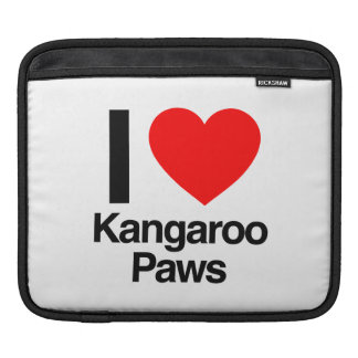 i love kangaroo paws iPad sleeve