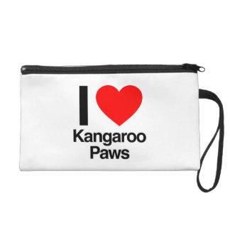 i love kangaroo paws wristlet
