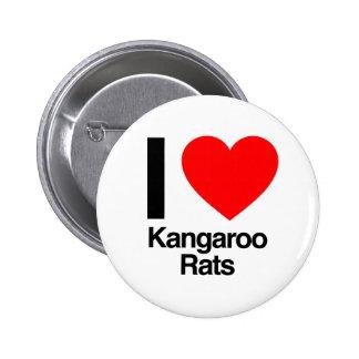 i love kangaroo rats button