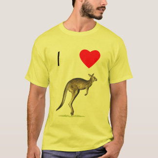 I Love Kangaroos (2) T-Shirt