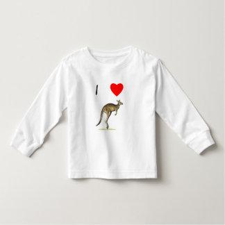 I Love Kangaroos (2) Toddler T-shirt