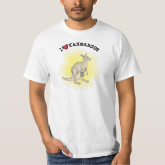 I Love Kangaroos - I Heart Roos Shirts