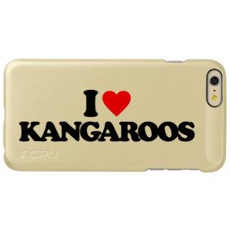 I LOVE KANGAROOS INCIPIO FEATHER® SHINE iPhone 6 PLUS CASE