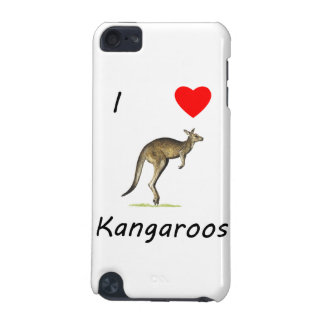 I Love Kangaroos iPod Touch (5th Generation) Case