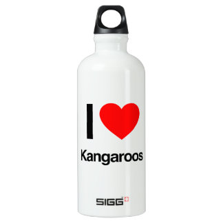 i love kangaroos SIGG traveler 0.6L water bottle