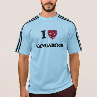 I Love Kangaroos T Shirts