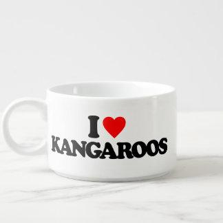 I LOVE KANGAROOS CHILI BOWL