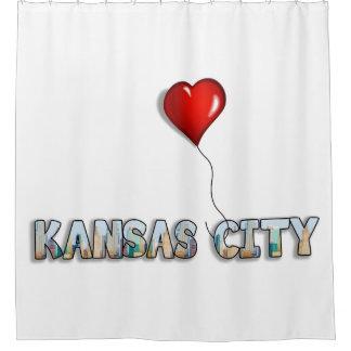 I Love Kansas City with KC Skyline Inside Letters