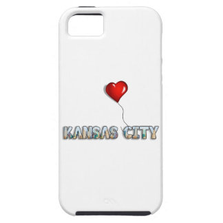 I Love Kansas City with KC Skyline Inside Letters Case For The iPhone 5