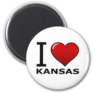 I LOVE KANSAS MAGNET