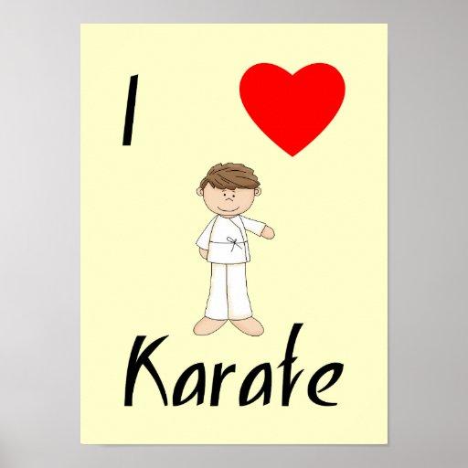 I Love Karate (4) Poster