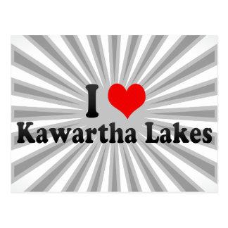 I Love Kawartha Lakes, Canada Postcard