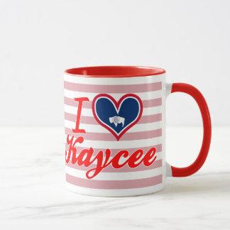I Love Kaycee, Wyoming Mug