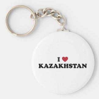 I love Kazakhstan Keychain