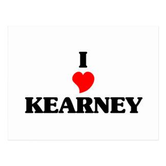 I love Kearney Postcard