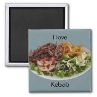 I love Kebab magnet