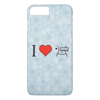 I Love Keeping Myself Fit iPhone 7 Plus Case