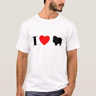 I Love Keeshonden T-Shirt