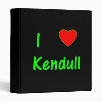 I Love Kendull Binder