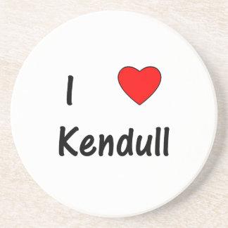 I Love Kendull Coaster