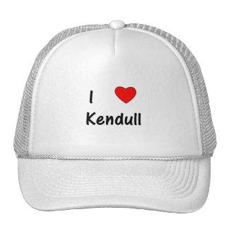 I Love Kendull Hats