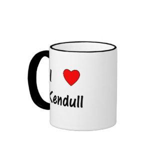 I Love Kendull Mugs
