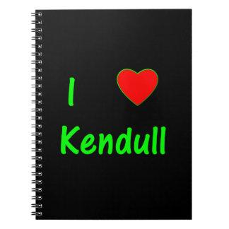 I Love Kendull Notebooks