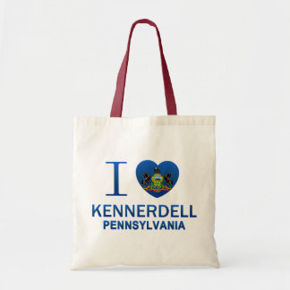 I Love Kennerdell, PA Tote Bag