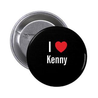 I love Kenny 2 Inch Round Button