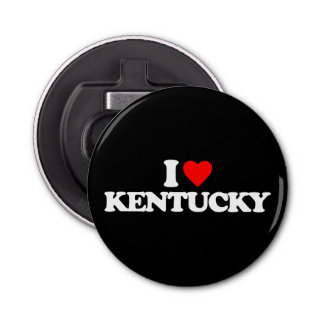 I LOVE KENTUCKY BOTTLE OPENER